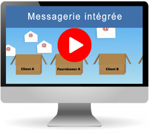 Une messagerie intégrée dans votre crm