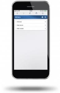 Gérer vos dossiers directement à partir de votre smartphone