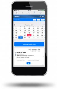 Votre planning toujours à jour dans votre smartphone