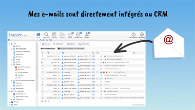 Centralisation des emails dans le logiciel CRM