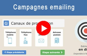 Vidéo de présentation du module campagne emailing