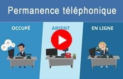 Video permanence téléphonique dans votre logiciel CRM