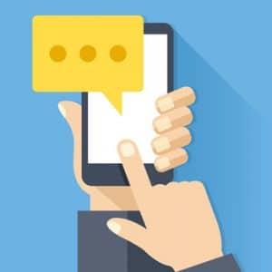 Communication par SMS et MMS