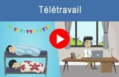video logiciel crm en teletravail home worker