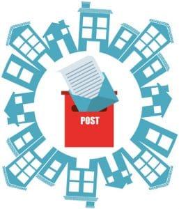 Envoi en nombre de courrier postaux