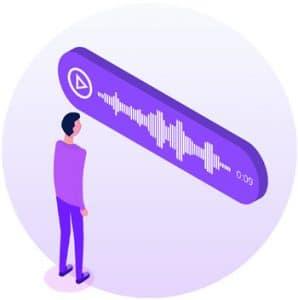 Communication par message vocal